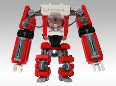 Santa Claus ahora se transporta en un robot Lego