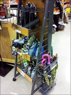 Canted-Front Umbrella Rack