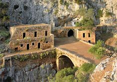 Crète La péninsule d'Akrotiri Le monastère de Katholiko