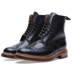 "Grenson ""Fred"" Brogue Derby Boot"