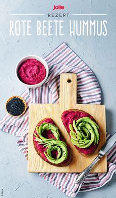 Wir lieben Rote Beete Hummus! #rezept #selbermachen #food