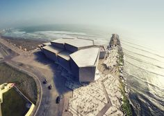 Concrete concert hall by Rojkind Arquitectos in Mexico