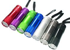 have enough flashlights for everyone to use-consider as favors?