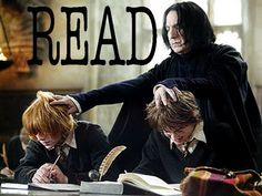 Professor Snape wants YOU to read!