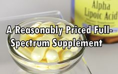 Here's a Reasonably Priced Full-Spectrum Supplement