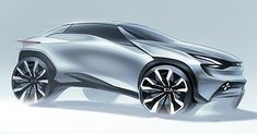 Kia SUV Concept sketch Designed by Jongmyung Lee Tag to get fetaured Car Design Sketch, Car Sketch, Suv Comparison, Suv For Sale, Ford Flex, 4x4, Chevrolet Traverse, Futuristic Cars, Luxury Suv