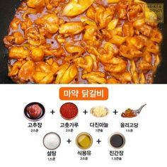 고기요리별 황금양념장 대공개! : 네이버 블로그 Cooking Dishes, Cooking Recipes, Sauce Recipes, Bento, Daily Meals, Korean Food, Food Menu, Food Plating, Asian Recipes