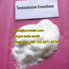 Testosterone enanthate is a long lasting single ester steroid,it is very popular.For pure Testosterone enanthate powder please contact:bella@yccreate.com