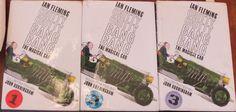 Chitty Chitty Bang Bang 1 2 3 Books Ian Fleming 1964 1965 first reprints vintage