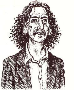 Robert Crumb - Portrait of Frank Zappa for The New Yorker - 1992. Veja também: http://semioticas1.blogspot.com.br/2012/05/estilo-crumb.html