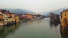 Brenta River, Vicenza, Italy