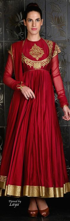 Rohit Bal 2015❋Laya❋ Indian Wedding Outfits, Pakistani Outfits, Indian Outfits, Churidar Suits, Anarkali Suits, Salwar Kameez, Rohit Bal, Indian Attire, Indian Wear