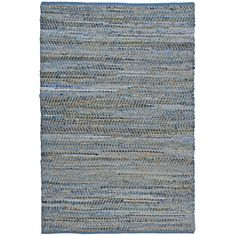 St. Croix Earth First Blue Jeans Handcrafted Area Rug