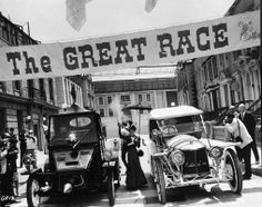 Natalie Wood, Tony Curtis, and Jack Lemmon in The Great Race Tony Curtis Movies, I Movie, Movie Stars, Jack Lemmon, The Great Race, Natalie Wood, Black N White, Old Movies, Race Cars