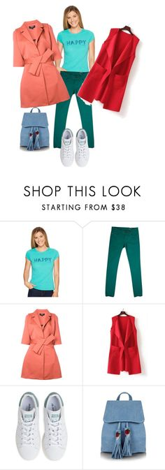 """""""цвет5"""" by sdelanodoma on Polyvore featuring Life is good, Missoni, Paule Ka, WithChic, adidas and Topshop"""