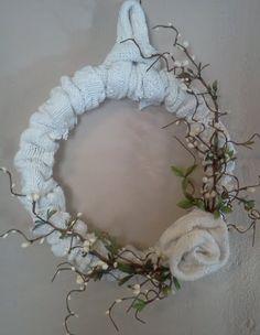 Winter Sweater Wreath
