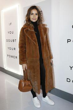 Miroslava Duma - Diane Von Furstenberg Fall 2016 Fashion Show - February 14, 2016 #nyfw