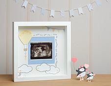 Pink Puffin Crafts | Framed Collection | Baby Scan Photograph Frame | £26 | www.pinkpuffincrafts.co.uk
