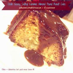 United States of Motherhood: Oooh Gooey Salted Caramel Almond Pound Bundt Cake #Paleo & #Glutenfree