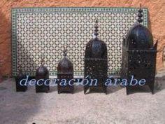 Faroles de chapa de Hierro Marroquís