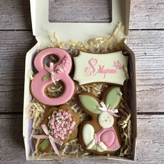 20 Best ideas for cookies packaging box treats Super Cookies, Mother's Day Cookies, Ginger Cookies, Iced Cookies, Easter Cookies, Royal Icing Cookies, Birthday Cookies, Eggless Cookie Recipes, Bake Sale Treats