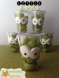 Little Frankies Class Snack! Healthy snack idea for Halloween party