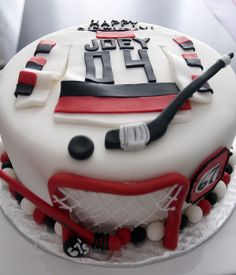 hockey cake by thelushcake, via Flickr