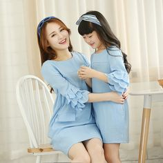 2015 mother daughter dresses girls women brand dress matching mother daughter clothes mommy and me clothes family look plus size