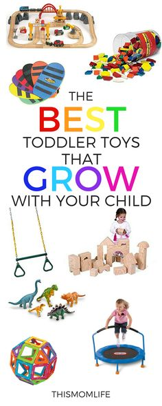 Toddler toys that grow with you child, development toys, toys that withstand years of play, toddler gifts, big body movement, building and independent play