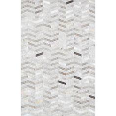 Found it at Wayfair - Hand-Loomed Silver Area Rug Diy Carpet, Modern Carpet, Rugs On Carpet, Carpets, Carpet Ideas, Hallway Carpet Runners, Cheap Carpet Runners, Textured Carpet, Patterned Carpet