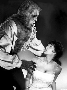 Oliver Reed & Yvonne Romain The Curse of the Werewolf (1961)