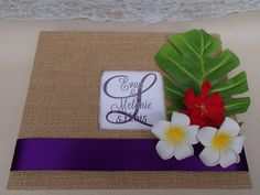 Tropical Guest Book Set Wedding Shower Birthday by ParadiseBridal