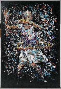 Hoola Hoop 1 from Childhood Series. Melted Plastic, Plastic Design, Hoop, Childhood, Feelings, Creative, Painting, Art, Art Background