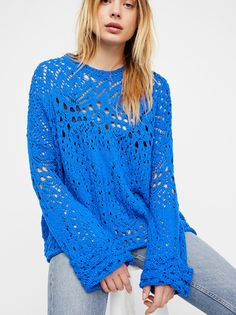 Traveling Lace Sweater from Free People!