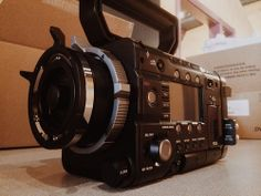 POTD - January 23rd, 2014. Today at work, we received our Sony F-55 camera. We now have a native 4K camera in house, though we have shot on RED Epic for awhile now via rentals. I'm excited to have a new toy and take a ton of videos to the next level.