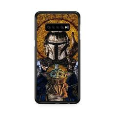 The Mandalorian And Baby Yoda Stained Glasses Art Samsung Galaxy S10e   Miloscase Galaxy S8 Phone Cases, Samsung Galaxy, Iphone Cases, Art Case, Plastic Material, S8 Plus, Mandalorian, Perfect Fit, Glasses