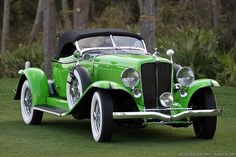 1932 Auburn 12-160A Speedster - (Auburn Automobile Company Auburn, Indiana 1900-1936)