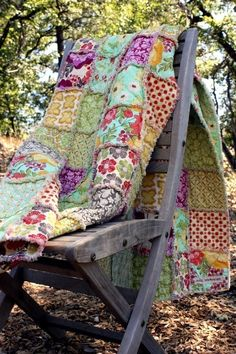 Rag Quilt Kit - Throw Size - DIY - CUSTOM - Cut Fabric, Batting, Instructions Included. $154.95, via Etsy.