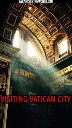 No trip to Rome is complete without visiting Vatican City! I had to check it out for myself and see Saint Peter's Square, the Vatican Museum and the beautiful Sistene Chapel. Check this post out to learn more about how you can visit Vatican City on your next trip. Don't forget to save this to your travel board so you can find it later.