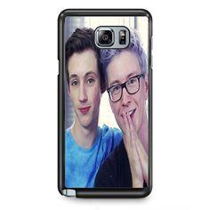 Tyler Oakley TATUM-11509 Samsung Phonecase Cover Samsung Galaxy Note 2 Note 3 Note 4 Note 5 Note Edge
