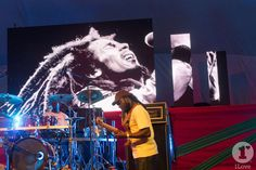 Digicel's free concert in Emancipation Park, Kingston, Jamaica