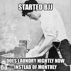 """Martial arts and laundry.   """"Your life does not get better by chance, it gets better by change."""" -Jim Rohn"""