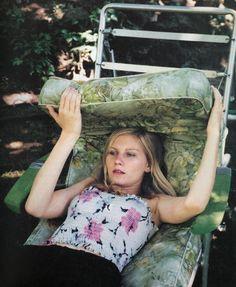 Kirsten Dunst par Corinne Day