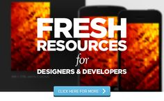 Fresh Resources for Designers and Developers — October 2013
