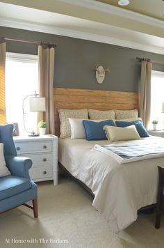 Master Bedroom Refresh  athomewiththebarkers.com