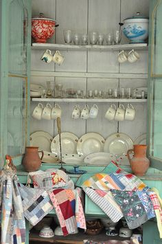 love this display cabinet for a kitchen