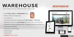 Warehouse - Responsive HTML5 Prestashop Theme