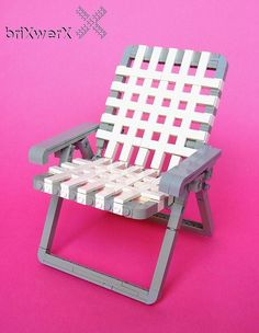 Lawn Chair 1 by New from Dave & John's briXwerX!, via Flickr