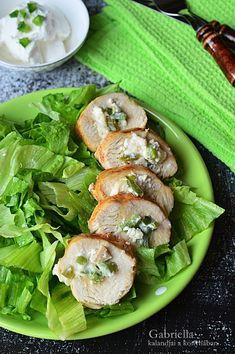 Gabriella kalandjai a konyhában :): Krémsajtos göngyölt csirkemell