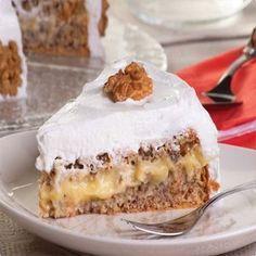Bolo de Nozes com Baba de Moça | Tortas e bolos > Bolo de Nozes | Receitas Gshow